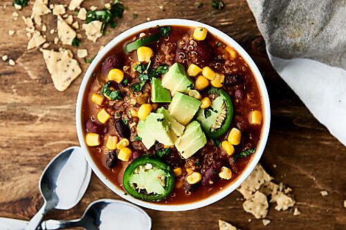 Instant Pot Vegetarian Chili Recipe Ready In 30 Mins Vegan Gluten Free
