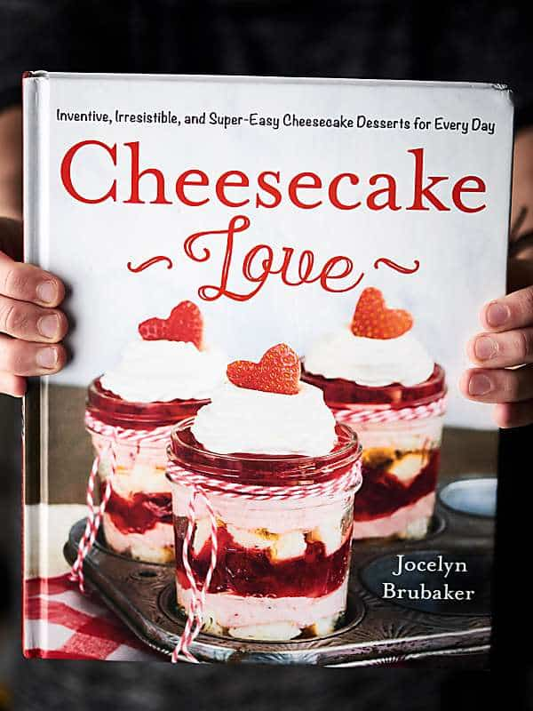 """Cheesecake Love"" cookbook held"