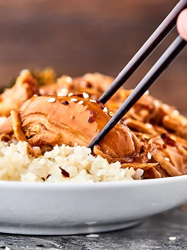 This Instant Pot Orange Chicken Recipe is a healthier version of a classic. My recipe uses FRESH orange juice and zest, keeping this flavorful and light. Quick. Easy. Can be gluten free. Healthy. Delicious! showmetheyummy.com #instantpot #orangechicken