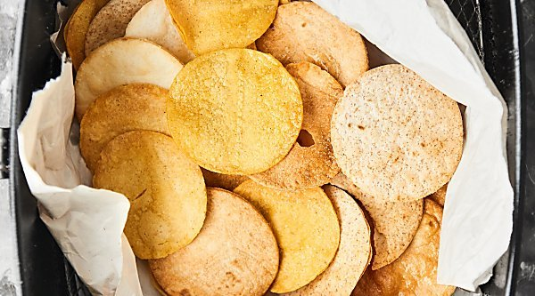how to make tortilla chips with all purpose flour