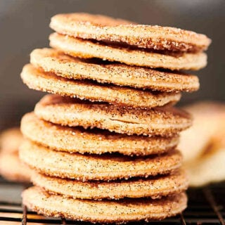 Pie Crust Cookies. Leftover pie dough, cinnamon, sugar, and cooking spray are all you need to make these little bites of joy! Perfect for dipping into your favorite dessert dip like pumpkin pie cheesecake dip! showmetheyummy.com #piecrust #piedough #cookies