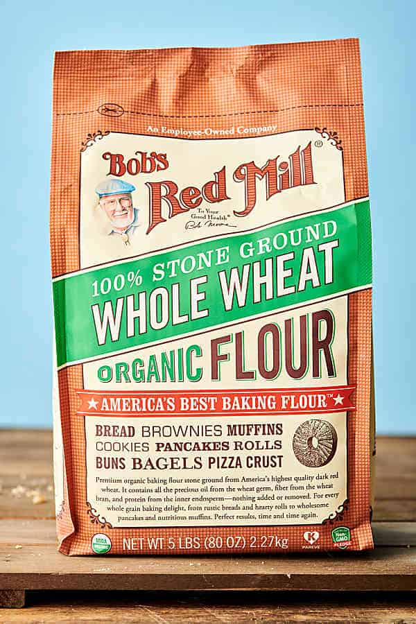 package of whole wheat flour