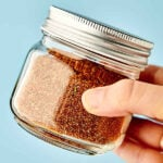 This Homemade Taco Seasoning Recipes comes together in 5 minutes and is loaded with chili powder, cumin, salt, pepper, garlic powder, onion powder, smoked paprika, cayenne, and oregano! Vegan. Gluten Free. Customizable! Lasts Years. showmetheyummy.com #taco #tacoseasoning #homemade #diy #vegan #glutenfree
