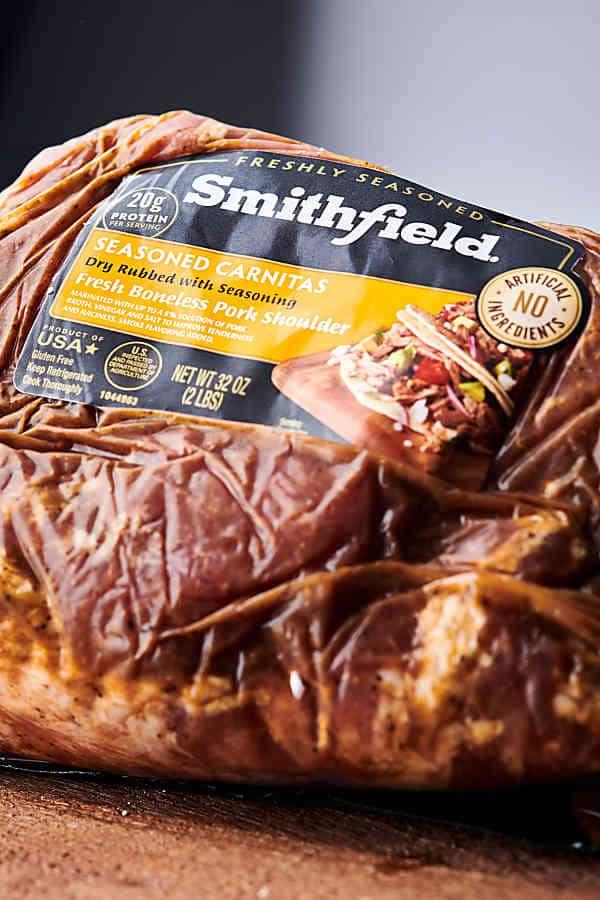 package of boneless pork shoulder