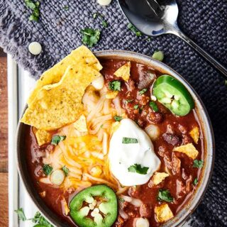 Easy Instant Pot Chili Recipe