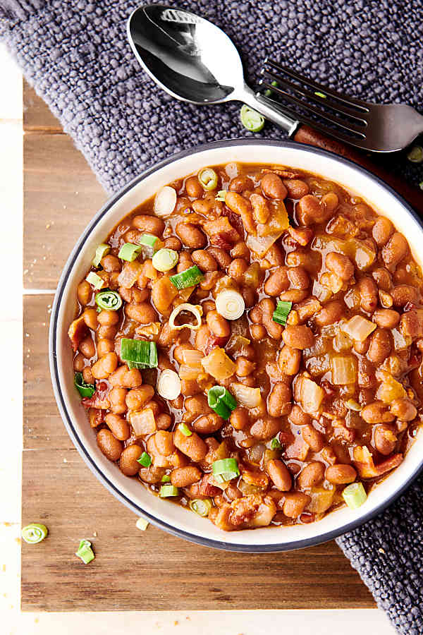 BBQ Baked Beans above