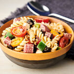 Italian pasta salad horizontal