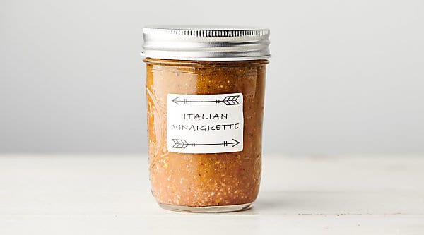 homemade italian dressing recipe horizontal