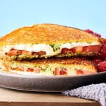 Caprese Grilled Cheese Sandwich horizontal