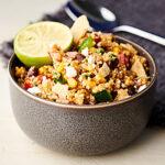 Easy Mexican Quinoa Salad horizontal