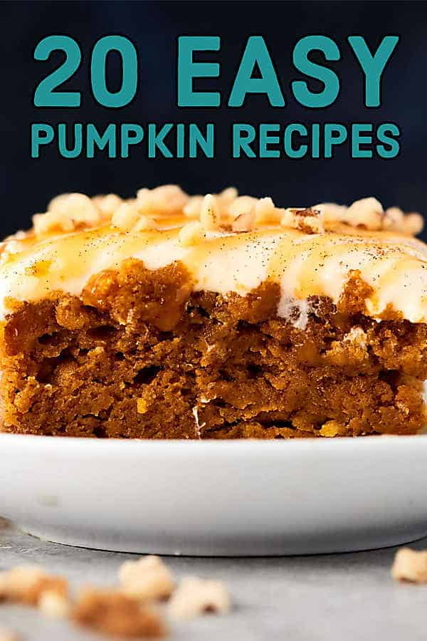 20 Easy Pumpkin Recipes
