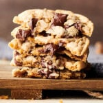 chewy chocolate chip cookies horizontal