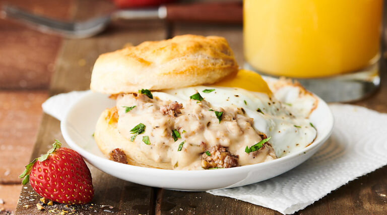 biscuits and gravy horizontal