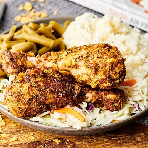 Air Fryer Fried Chicken Healthy And Gluten Free
