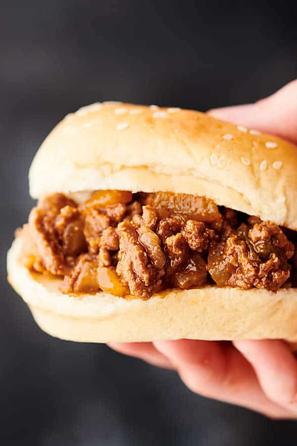 Sloppy joe held