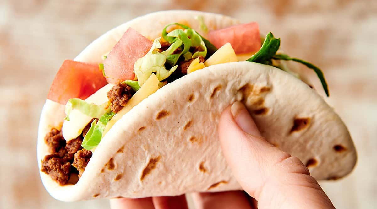 Easy Taco Recipe with Ground Beef