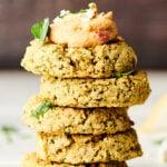 falafel stacked