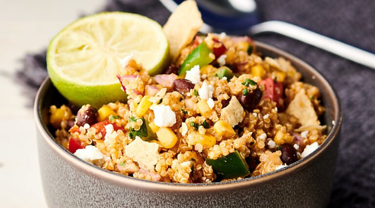bowl of mexican quinoa salad