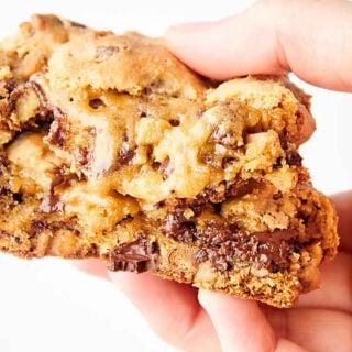 levain cookies held