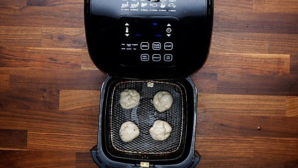 biscuit wrapped oreos in air fryer