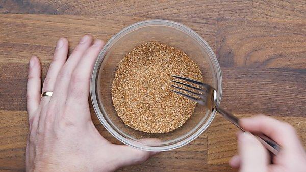seasonings in mixing bowl