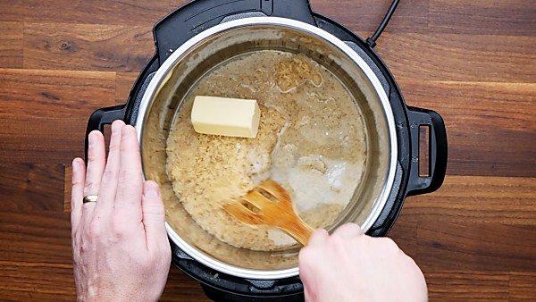 rice ingredients in instant pot