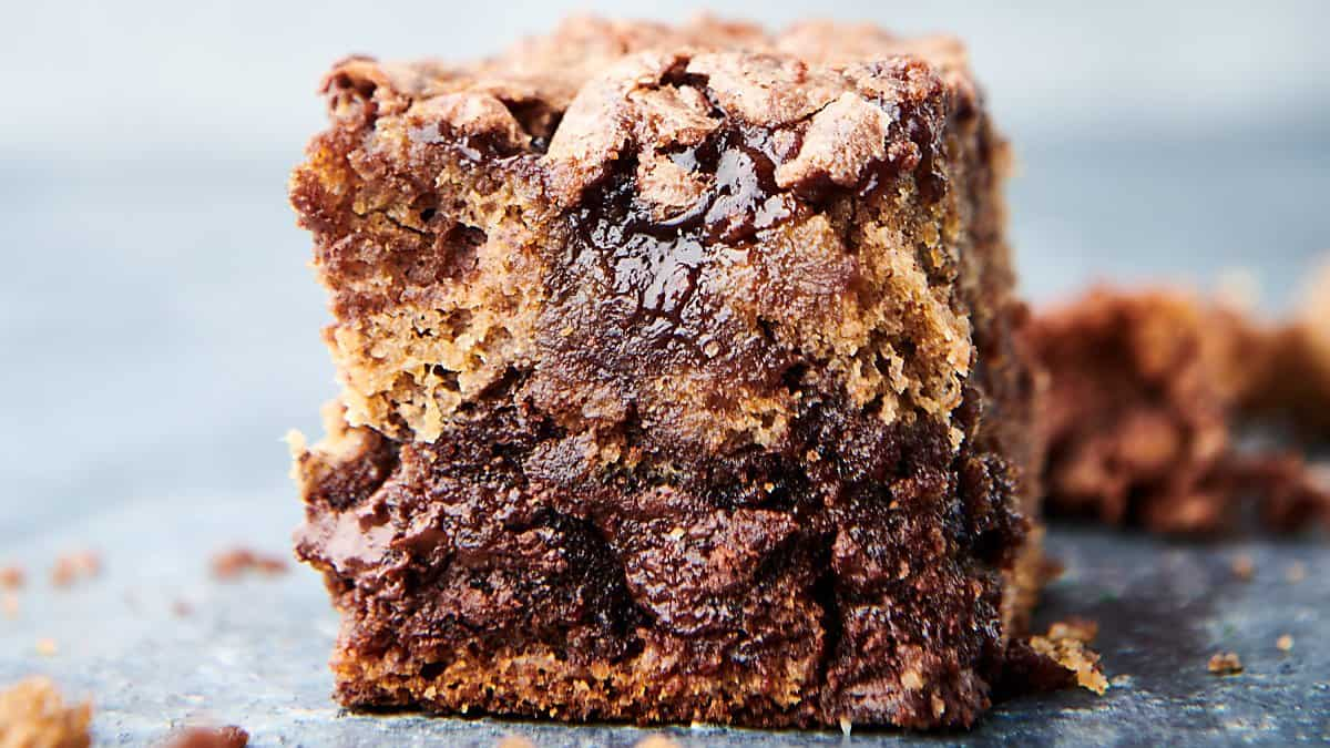 banana bread brownie