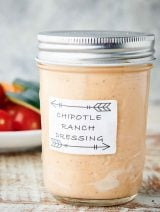 jar of chipotle ranch dressing
