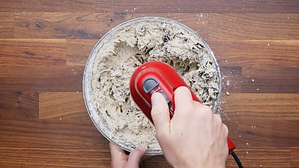 oreos added to cookie dough