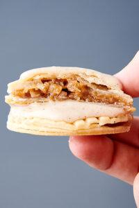 apple pie cookies held