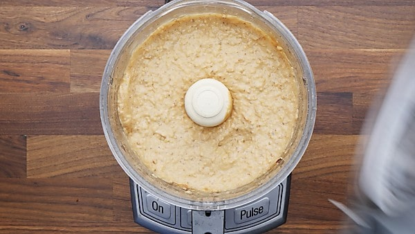 apple pie cookie filling in food processor