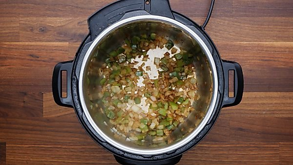pepper sauteed in instant pot